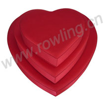 Chocolate box/heart-shaped cloth box